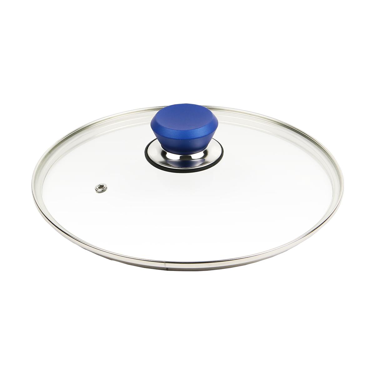 フレーバーストーン 24cm 専用ガラス蓋 ブルー