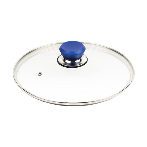 フレーバーストーン 28cm 専用ガラス蓋 ブルー