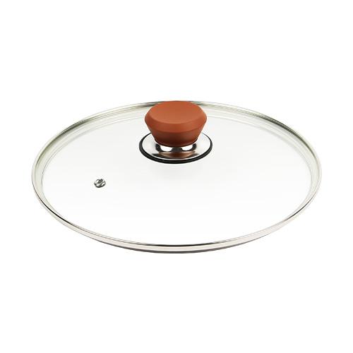 フレーバーストーン 28cm 専用ガラス蓋 ブロンズゴールド