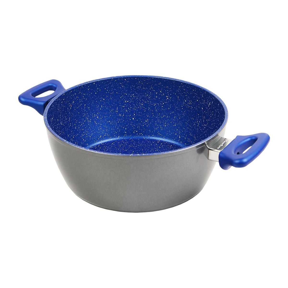 フレーバーストーン キャセロールパン ブルー