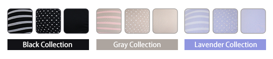 BlackCollection GrayCollection LavenderCollection