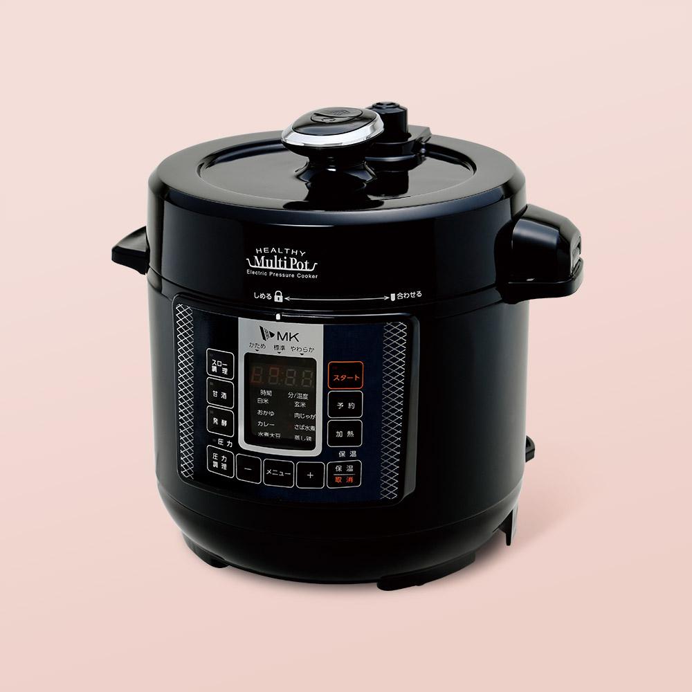 電気圧力鍋ヘルシーマルチポット