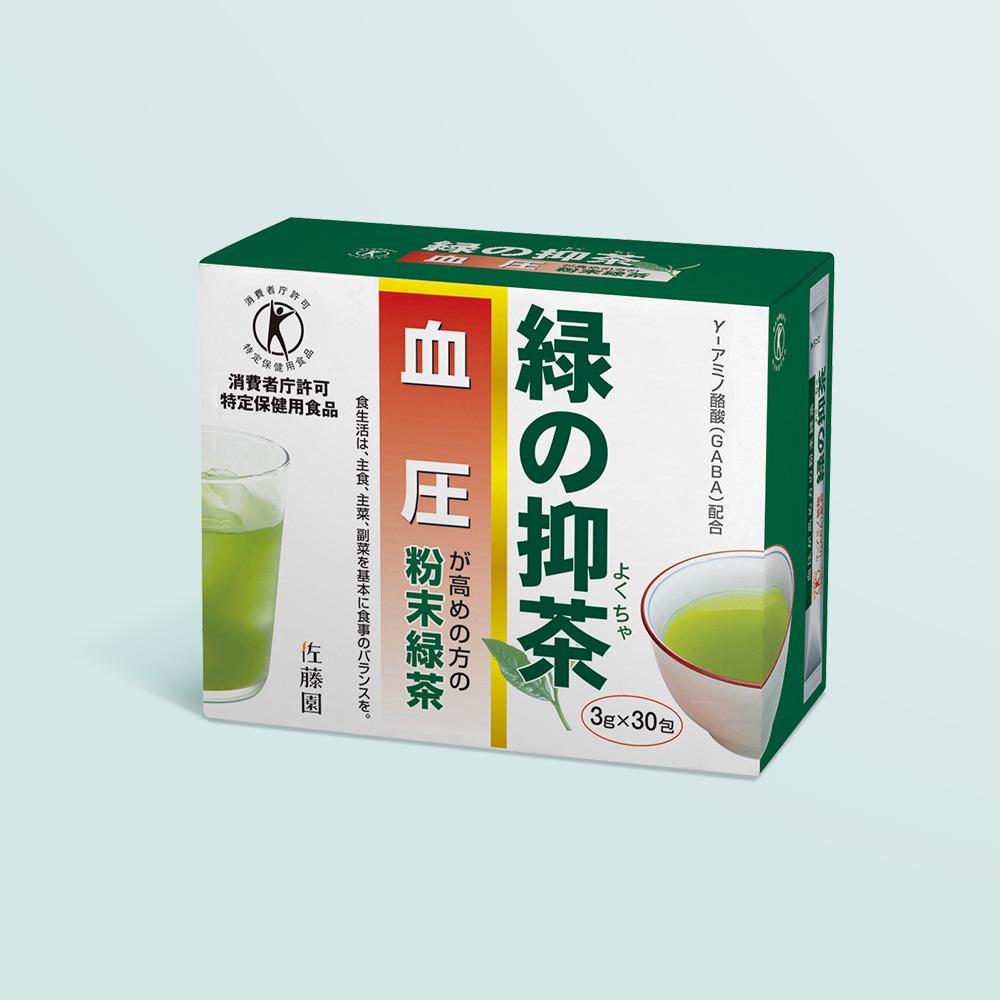 《特定保健用食品》 緑の抑茶(よくちゃ) 1箱