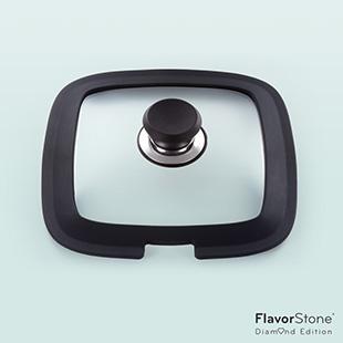 フレーバーストーン ダイヤモンドエディション 専用シリコン付きガラス蓋