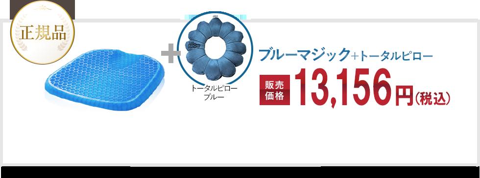 正規品 Blue Magic ブルーマジック+トータルピロー 販売価格 13,156円(税込)+送料990円